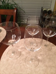 Deciding which glass would be best for the Jones Von Drehle Petit Manseng