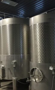 The Holding Tanks at Burntshirt Vineyards