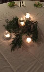 Festive Winter Centerpiece