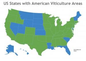 US States with AVAs