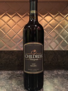 2008 Childress Malbec