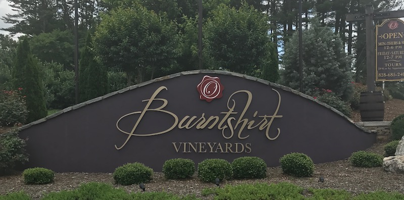 June, 2017 –  Visit to Burntshirt Vineyards