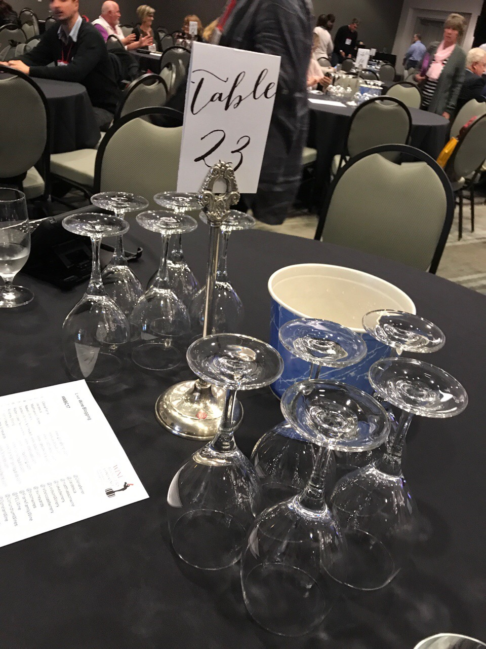 #WBC17 Live Blogging Day 1 – Whites & Rosés