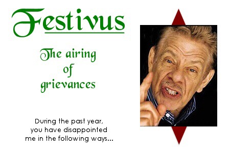 Festivus 2019 – Airing of Wine Grievances!