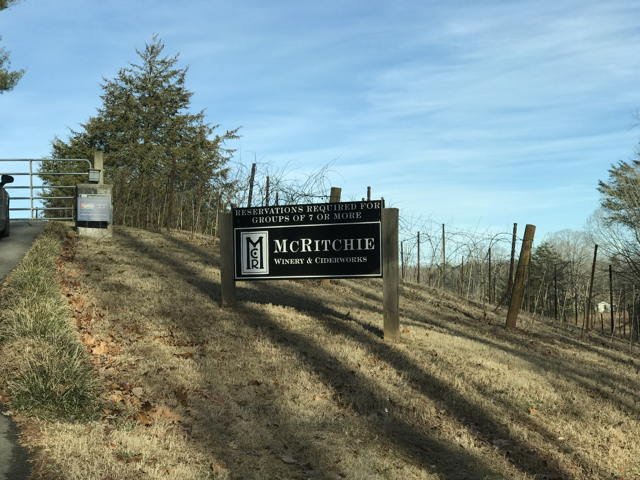 McRitchie Winery – Ring of Fire Vertical Tasting