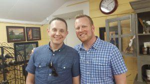 Joe Brock and Matt Kemberling: NC Wine Guys