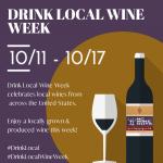 Drink Local Wine Week 2020