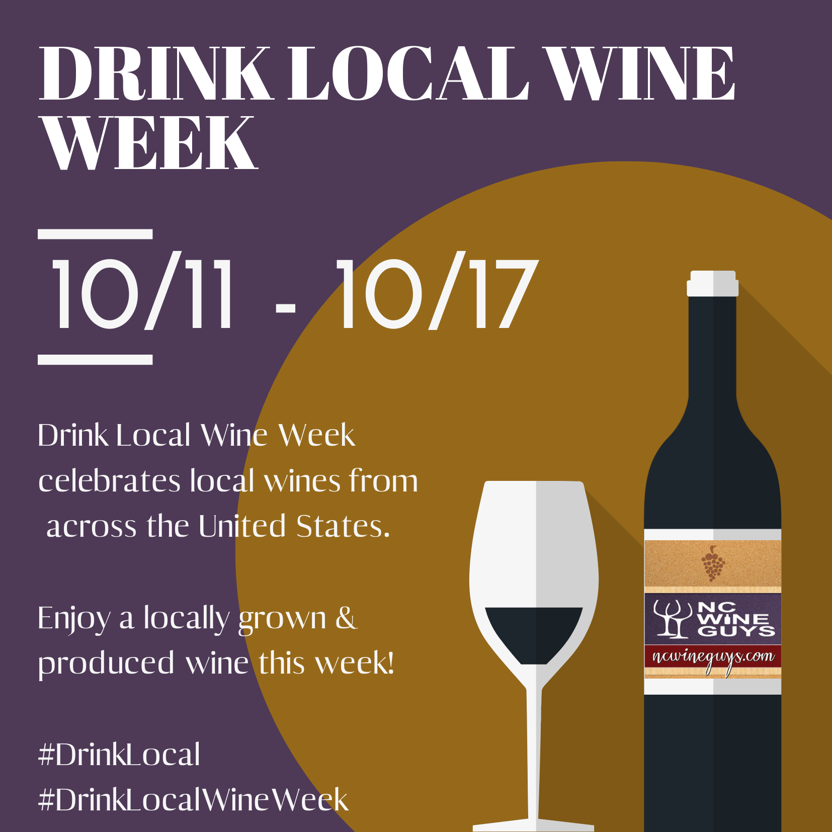 Drink Local Wine Week 2020