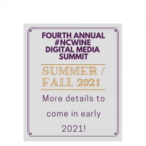 2021 #NCWine Digital Media Summit