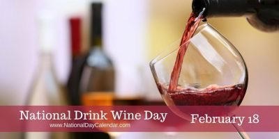 In the Wine Light – National Drink Wine Day