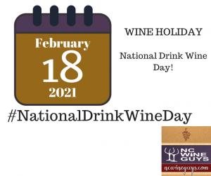 National Drink Wine Day 2021