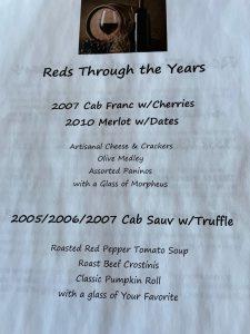 Reds Through the Years at Zimmerman Vineyards