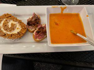 Yummy Dinner at Zimmerman Vineyards